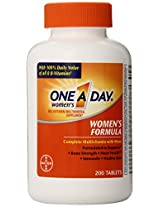 One-A-Day Women's Multivitamin, 200-Count Bottles (Pack of 2)