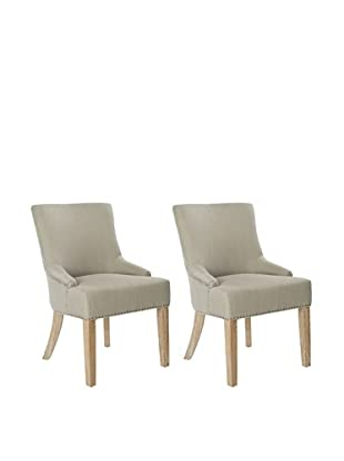 Safavieh Set of 2 Lotus KD Side Chairs