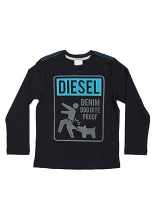 Diesel Kid Longsleeve Tenestok (Blau)