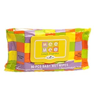 BABY WET WIPES (LEMON FRAGRANCE 80 PCS)