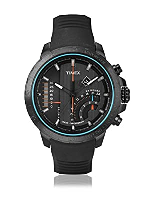 TIMEX Reloj de cuarzo Man Intelligent T-Series Linear Negro 47 mm