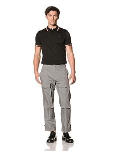 Pringle of Scotland Men's Poplin Trousers (Steel Grey)