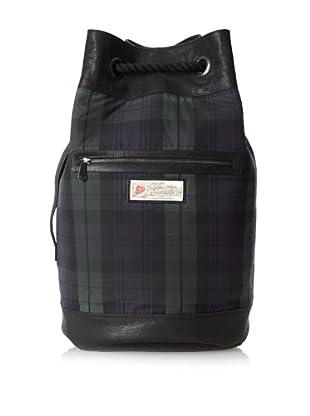 The British Belt Company Men's Broadshaw Duffle Bag (Blackwatch Check)