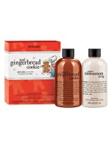 philosophy iced gingerbread cookie duo 8 oz