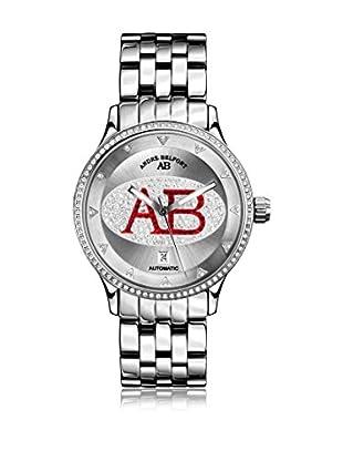 André Belfort Automatikuhr Grande Dame Silber Rot silber 40  mm