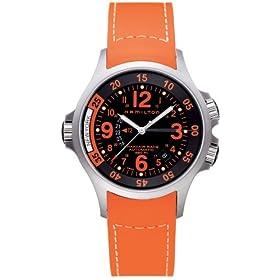 HAMILTON (ハミルトン) 腕時計 KHAKI AVIATION GMT AIR RACE H77665873 メンズ