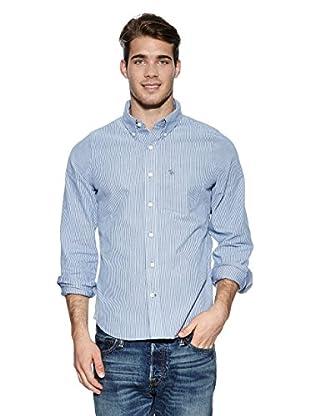 Abercrombie & Fitch Hemd Classic (blau)