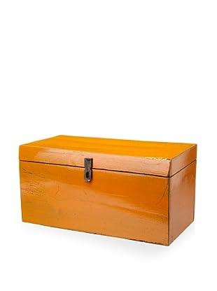 Royola Pacific Wooden Box (Flame Orange)