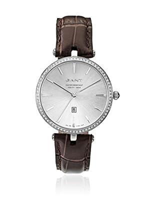 Gant Reloj con movimiento cuarzo japonés Union W70282 Marrón 37 mm