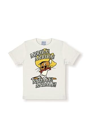 Logoshirt Camiseta Niños Looney Tunes - Arriba! yele! (Blanco)
