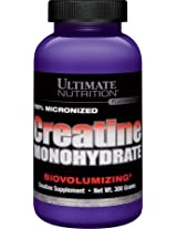 Ultimate's Creatine 300 Grams, 60- Serving