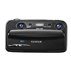 : FUJIFILM 3Dデジタルカメラ FinePix REAL 3D W3 FX-3D W3 1000万画素 光学3倍ズームX2 3.5インチワイド3D液晶 3DHD動画