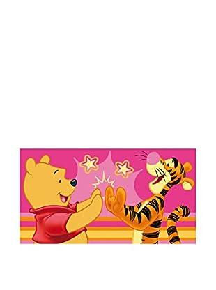 Abc Alfombra Fun Line Winnie The Pooh Rosa / Amarillo 65 x 120 cm