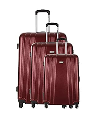 RODIER Set 3 Trolley Rigido Platanar