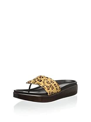 Donald J Pliner Women's Fifi 11 Thong Sandal (Camel Expresso)