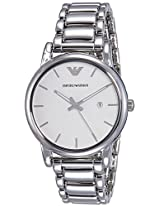 Emporio Armani End-of-season Analog Silver Dial Men's Watch - AR1854