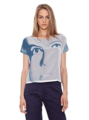 Pepe Jeans London T-Shirt Cary (Blau)