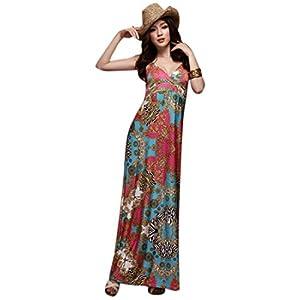 Women Maxi Printed Dress