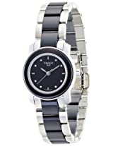 Tissot Analog Black Dial Women's Watch - T0642102205600