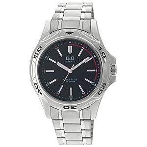 Q&Q Analog Black Dial Men's Watch - Q472N202Y