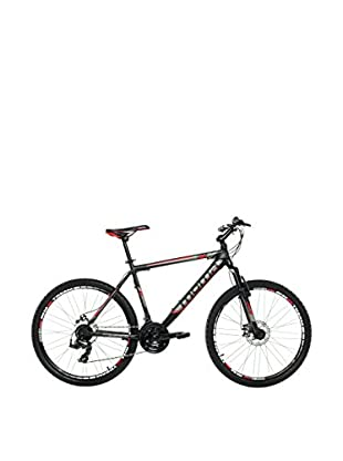 MOMA BIKES Bicicletta Btt 26 Alu Full Disc 24V Gtt26 M Nero