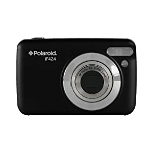 Polaroid IF424-BLK-PR 14 Digital Camera with 2.4-Inch LCD (Black)