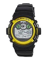 Ego by Maxima Digital Black Dial Men's Watch - E-37171PPDN