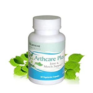 Morpheme Arthcare Capsules for Arthritis, Joints - 500mg Extract - 60 Veg Capsules