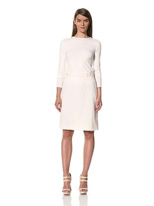 JIL SANDER Women's Twisted Poplin Skirt