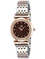 Gio Collection Analog Brown Dial Women's Watch - G2014-22