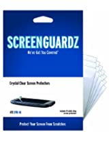 ScreenGuardz Ultra-Slim Screen Protector for HTC EVO - 5 Pack - Transparent