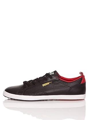 Puma Zapatillas Slim Court (Negro / Rojo)