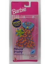 Barbie Flower Pretty Fashions Floral Scented Blue Yellow Red 68580 91