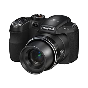 Fujifilm S2950 Point & Shoot Camera with 14MP, 18x Optical Zoom and 3 inch Screen (Black)