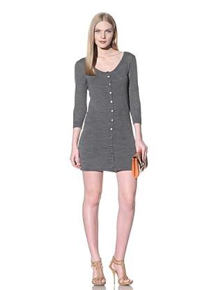 Thakoon Women's Knit Cardigan Dress (Grey)
