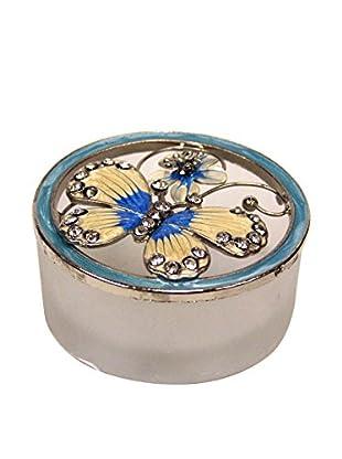 Butterfly Jewelry Box, Blue