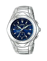 Citizen Chronograph Alarm Diver Perpetual Eco Drive Solar Mens Watch BL5100-56M