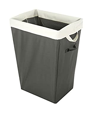 Whitmor Easycare Hamper & Laundry Bag, Greystone