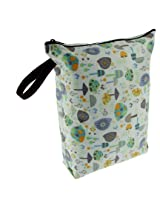 Blueberry Diaper Wet Bags, Snails