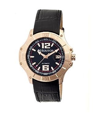 Heritor Automatic Uhr Norton Herhr3006 schwarz 48  mm