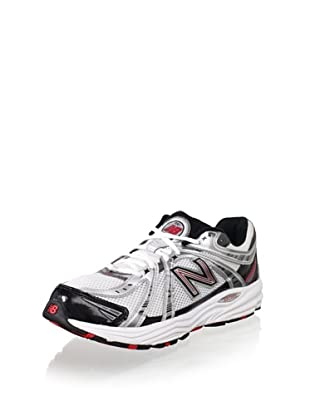 New Balance Men's MR840 Running Shoe (Silver/Red)
