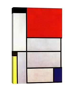 Piet Mondrian's Tableau I (1921) Giclée Canvas Print