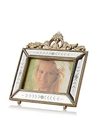 Bethel International Handmade Mirrored Photo Frame (Silver)