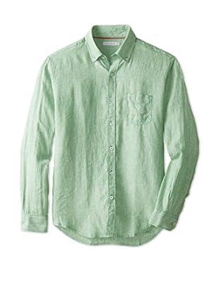 Alex Cannon Men's Washed Linen Sportshirt
