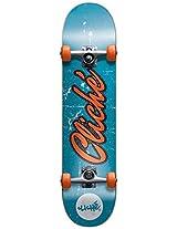 Cliche 10526196 Old Logo Ful 7.7 Blue/Orange Complete Skateboard