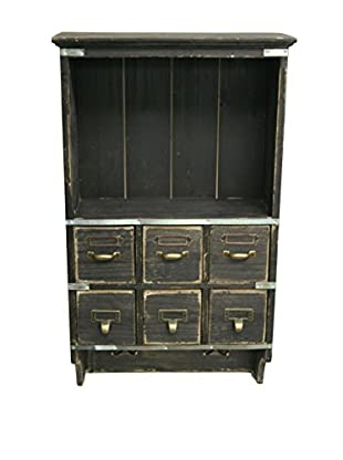 Contrast, Inc. Vintage-Inspired Petite Wall Chest