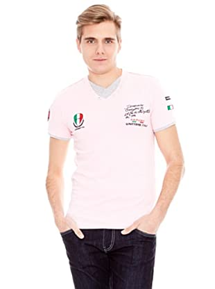 Unitryb Camiseta Manga Corta (Rosa)