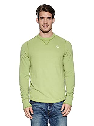 Abercrombie & Fitch Pullover Classic Crew (hellgrün)