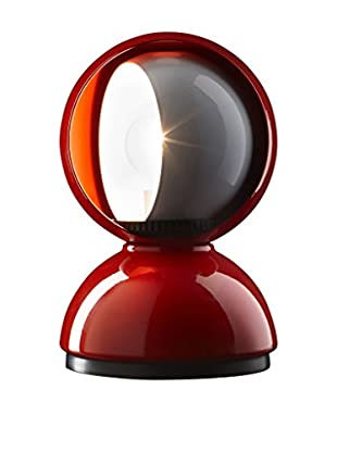 Artemide Tischlampe Eclisse rot Ø 12 H 18 cm