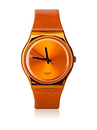Swatch Quarzuhr Man DEEP ORANGE GO111 34.0 mm